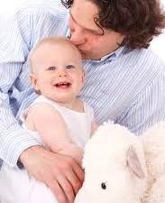 padre e bimbo