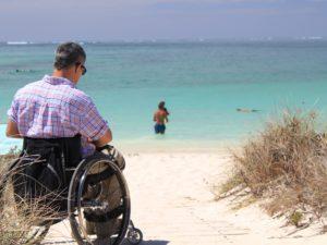disabile sedia